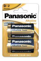 Baterie Panasonic Alkaline Power, LR20, D, (Blistr 2ks)