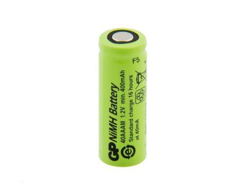 Akumulátor GP 40 AAAM, 2/3 AAA, 1,2V, 400mAh, Ni-MH, 1ks