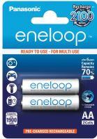 Baterie Panasonic Eneloop AA, 1900mAh, 3MCCE/2BE (blistr 2ks)