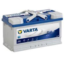 Autobaterie VARTA Blue Dynamic EFB (START-STOP) 80Ah, 12V