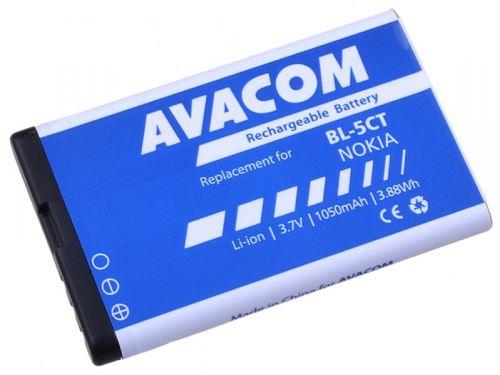 Baterie Avacom GSNO-BL5CT-S1050A pro Nokia BL-5CT, 1050mAh, Li-ion