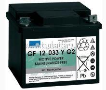 Trakční gelová baterie Sonnenschein GF 12 033 Y G2, 12V, 38Ah