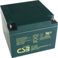 Akumulátor (baterie) CSB EVX12260, 12V, 26Ah, zapuštěný závit M5