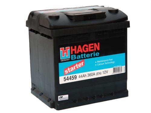 Autobaterie Hagen 44Ah, 12V, 360A