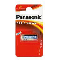 Baterie Panasonic LR1, N, 910A, Alkaline, nenabíjecí, fotobaterie, (Blistr 1ks)