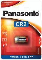 Baterie Panasonic CR2, Lithium, fotobaterie, 3V, (Blistr 1ks)