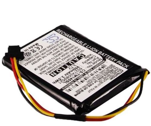 Baterie CS-TM140SL pro navigace TomTom One 140, 950mAh, Li-ion  (Blistr 1ks)