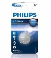 Baterie Philips CR2016, Lithium, 3V, (Blistr 1ks)