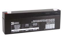 Olověný bezúdržbový akumulátor SLA 12V, 2,2Ah, F1, úzký
