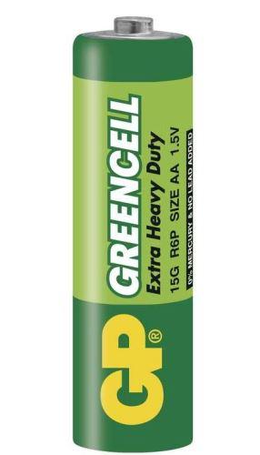 Baterie GP Greencell 15G, R6, primární AA, 1ks