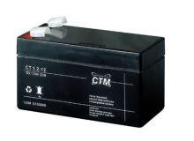 Akumulátor (baterie) CTM/CT 12-1,2 (1,2Ah - 12V - Faston 187)