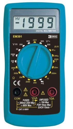 Měřící přístroj - Digitální multimetr MD-210 M0391(voltmetr)