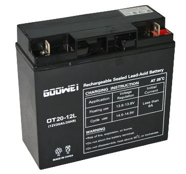 Trakční (gelová) baterie YUCELL OTL20-12, 20Ah, 12V ( VRLA )
