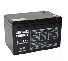 Staniční (záložní) baterie YUCELL OT12-12, F2, 12Ah, 12V ( VRLA )