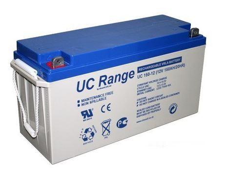 Trakční (gelová) baterie Ultracell UCG150-12, F11, 150Ah, 12V ( VRLA )