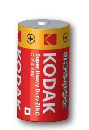 Baterie Kodak R14, C, Zinc-Chloride, 1,5V, 1ks