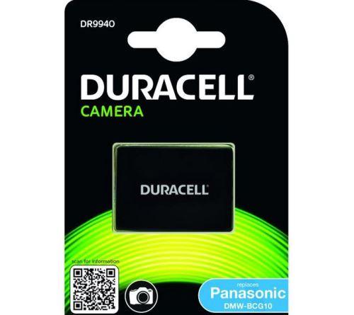 Baterie Duracell Panasonic DMW-BCG10, 3,6V (3,7V) - 850mAh