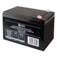 Olověný bezúdržbový akumulátor SLA 12V, 12Ah, F2, široký