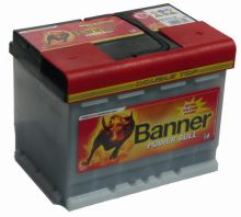 Autobaterie Banner POWER BULL PROfessional P63 40, 63Ah, 12V, 600A (P6340)
