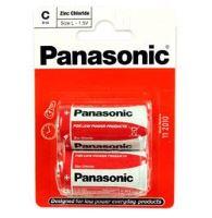 Baterie Panasonic zinco-carbon, R14RZ, C, (Blistr 2ks) výprodej 11/2019