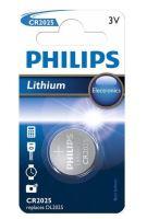 Baterie Philips CR2025, Lithium, 3V, (Blistr 1ks)