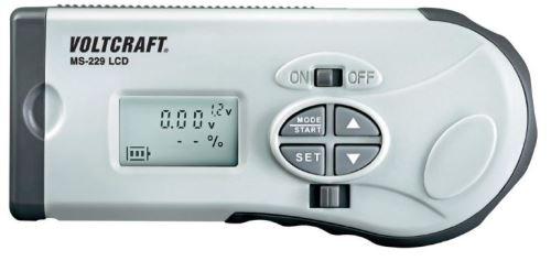 Voltcraft MS-229 LCD pro AA, AAA, C, D, 9V, knoflíkové, Digitální tester (zkoušečka)