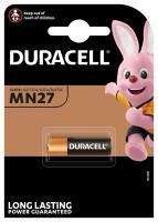 Baterie Duracell A27, 27A, MN27 Alkaline, 12V, (Blistr 1ks)