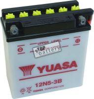 Motobaterie YUASA 12N5-3B, 12V, 5Ah