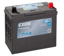 Autobaterie EXIDE Premium, Carbon Boost, 12V, 45Ah, 390A, EA456
