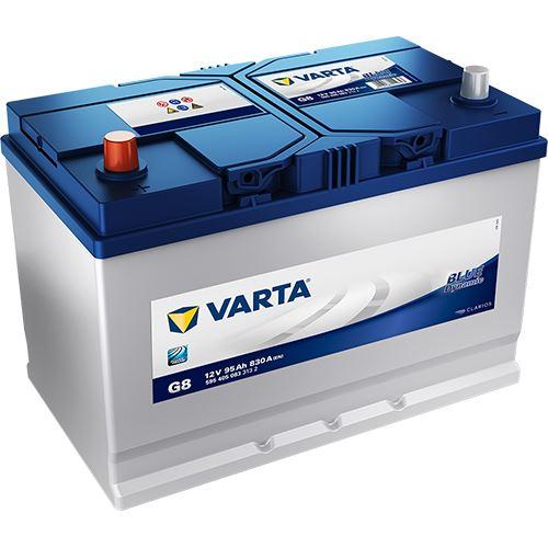 Autobaterie VARTA BLUE Dynamic 95Ah, 12V (G8) - Levá