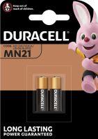 Baterie Duracell 23AE, LRV08, 23A, MN21 Alkaline, 12V, (Blistr 2ks)
