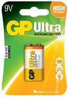 Baterie GP 1604AU Ultra Alkaline, 9V, (Blistr 1ks)