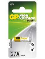 Baterie GP Alkaline 27A, MN27, A27S, 27A 12V, (Blistr 1ks)