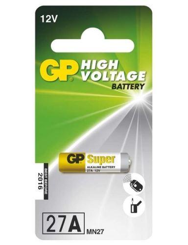Baterie GP Alkaline 27A, MN27, A27S, 12V, (Blistr 1ks)