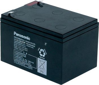 Akumulátor (baterie) PANASONIC LC-CA1215P1, 15Ah, 12V - trakční,cyklická