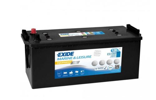 Trakční baterie EXIDE EQUIPMENT GEL, 12V, 120Ah, ES1350