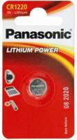 Baterie Panasonic CR1220, Lithium, 3V, (Blistr 1ks)