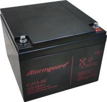 Baterie (akumulátor) ALARMGUARD CJ12-26, 12V, 26Ah