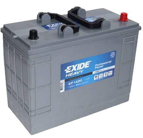 Autobaterie EXIDE Professional Power HDX, 12V, 142Ah, 850A, EF1420