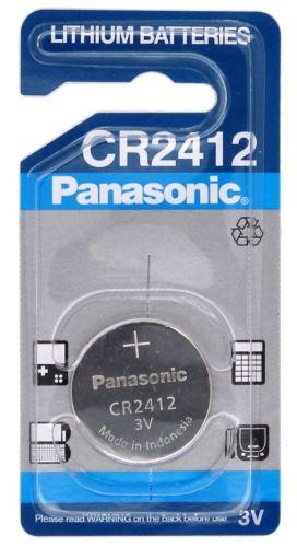 Baterie Panasonic CR2412, Lithium, 3V, (Blistr 1ks)