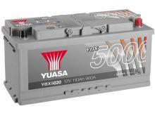 Autobaterie Yuasa Silver High Performance 110Ah, 12V, 900A (YBX5020)