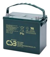 Akumulátor (baterie) CSB EVX12520, 12V, 52Ah, šroubová spojka M6