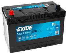 Autobaterie EXIDE Start-Stop EFB, 12V, 95Ah, 800A, EL955