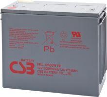 Akumulátor (baterie) CSB HRL12500W, 12V, 125Ah, zapuštěný závit M8