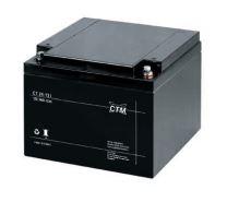 Akumulátor (baterie) CTM/CT 12-24 (24Ah - 12V - závit M5)