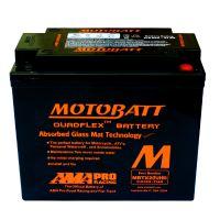 Motobaterie Motobatt MBTX20UHD, 12V, 21Ah, 310A (12N16-3A, YB16L-A, YTX20HL-BS)
