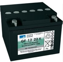 Trakční gelová baterie Sonnenschein GF 12 022 Y F, 12V, 24Ah