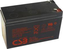 Akumulátor (baterie) CSB GP1272 F1, 12V 7,2Ah,Faston 187, F1, úzký