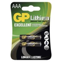 Baterie GP FR03, Lithium, AAA, 1022000412, (Blistr 2ks)