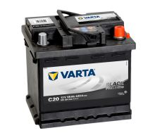 Autobaterie VARTA Black PROMOTIVE 55Ah, 12V (C20)